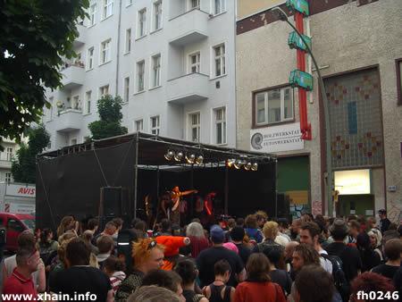 Livebands auf der Fiesta Kreutziga 2010