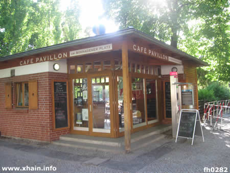 Cafe Pavillon am Boxhagener Platz