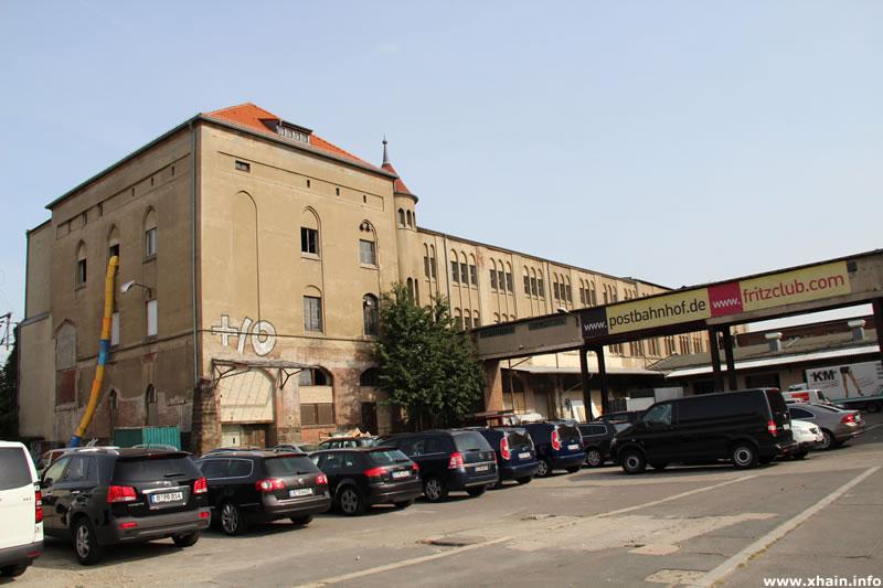 Postbahnhof am Ostbahnhof (Abgangs-Packkammer)