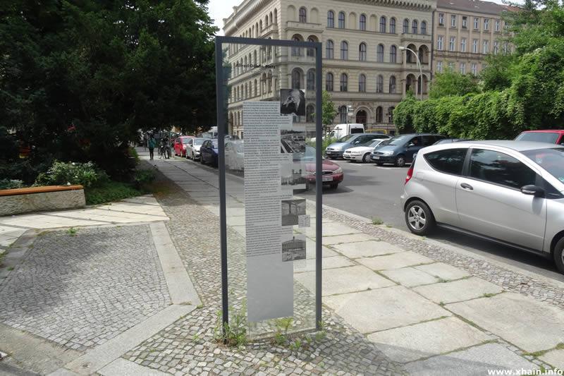 Infotafel Alfred Döblin