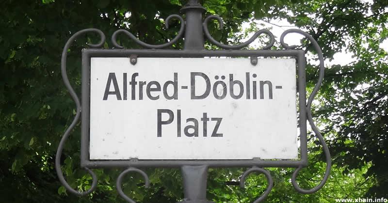 Alfred-Döblin-Platz