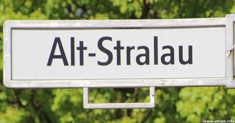 Straße Alt-Stralau