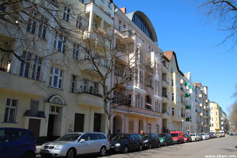 Altbauten in der Ratiborstraße