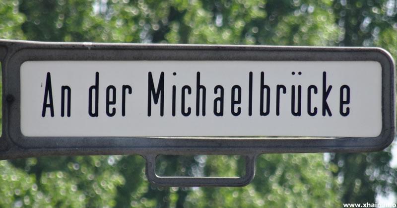 An der Michaelbrücke