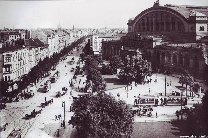 Anhalter Bahnhof um 1910