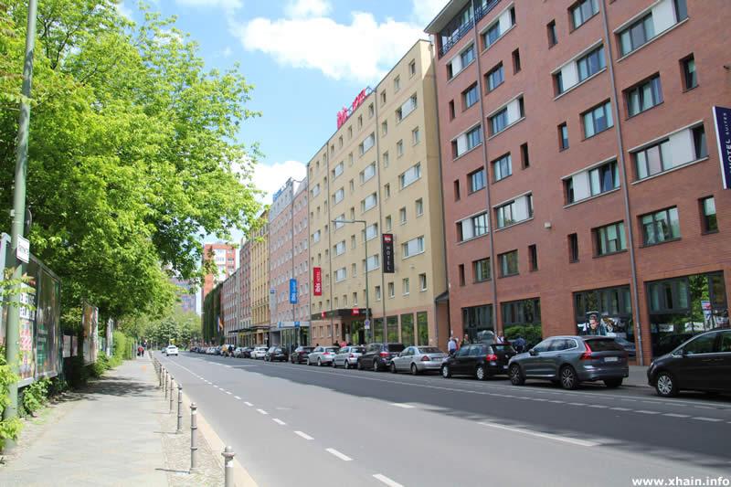 Anhalter Straße, Blickrichtung Wilhelmstraße