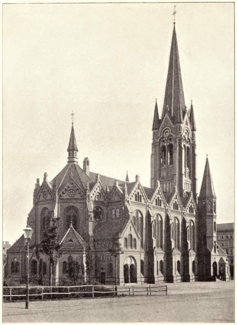 Auferstehungskirche um 1896