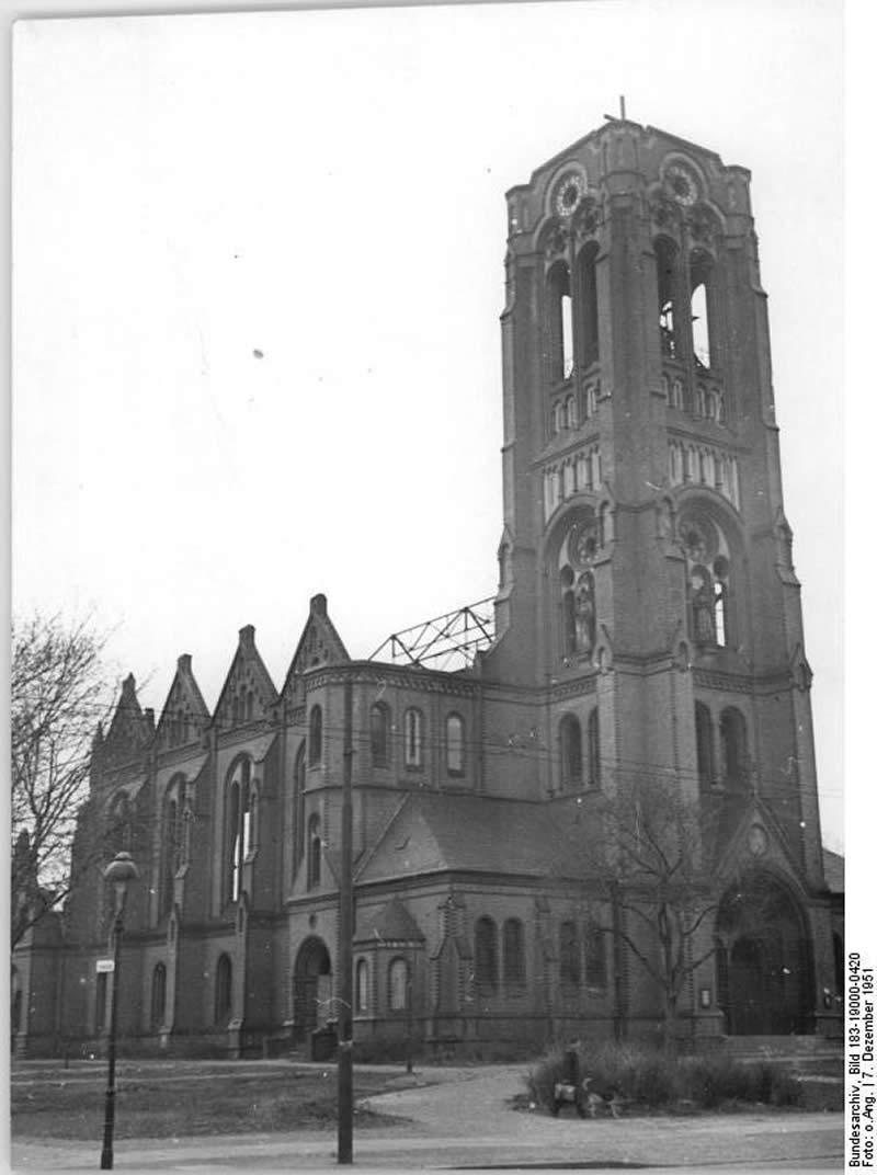 Auferstehungskirche 1951