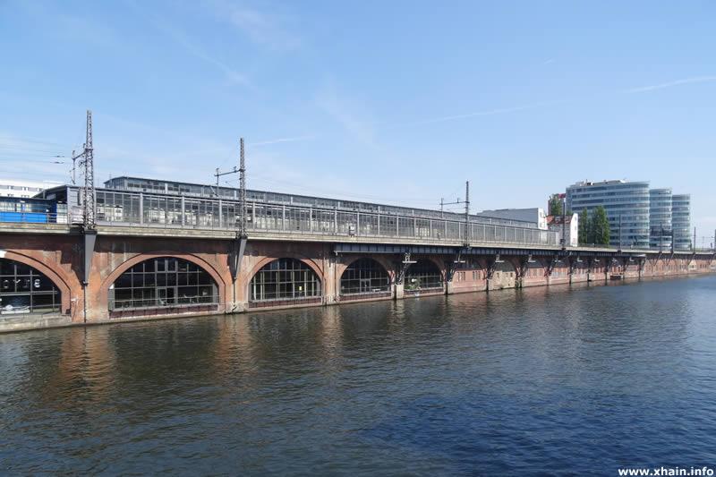 Bahnhof Jannowitzbrücke an der Spree