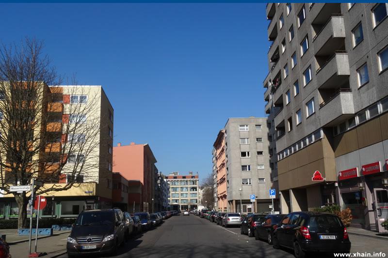 Bergfriedstraße Ecke Wassertorstraße