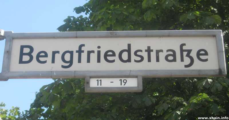 Bergfriedstraße