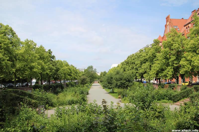 Luisenstädtischer Kanal / Immergrüner Garten