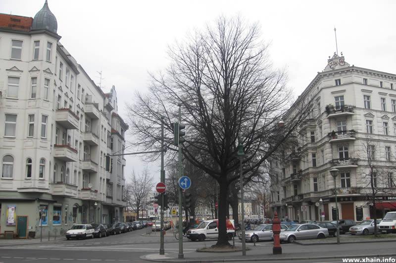 Bevernstraße, Ecke Oberbaumstraße