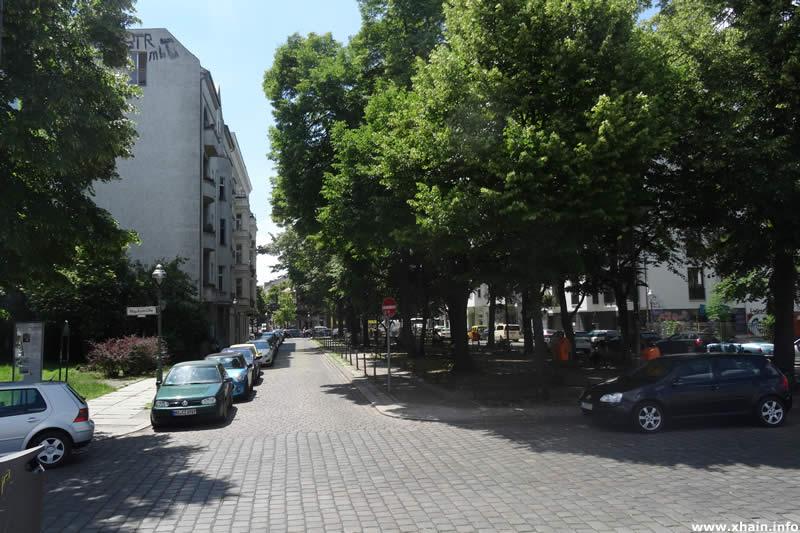 Bevernstraße, Ecke May-Ayim-Ufer