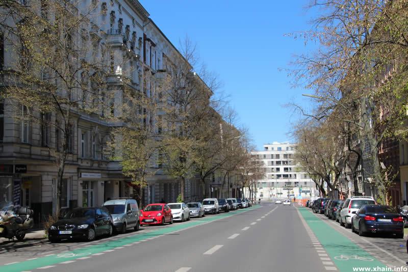 Katzbachstraße, Blickrichtung Yorckstraße / Möckernkiez