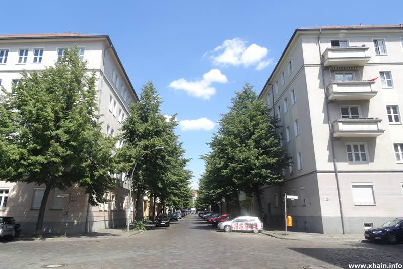 Jungstraße Ecke Weserstraße