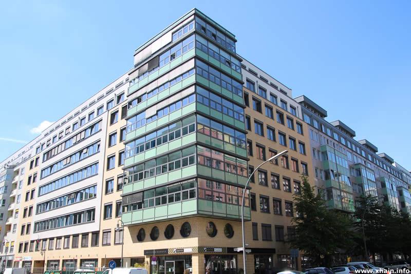 Zimmerstraße Ecke Markgrafenstraße