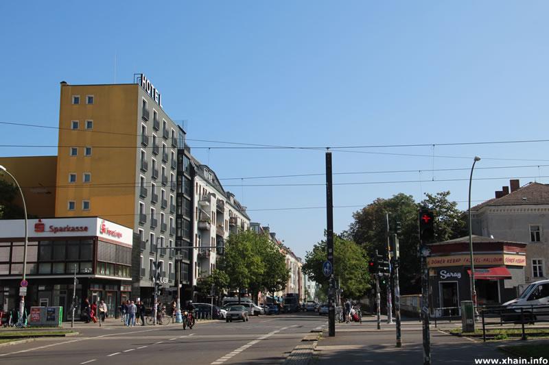 Revaler Straße Ecke Warschauer Straße