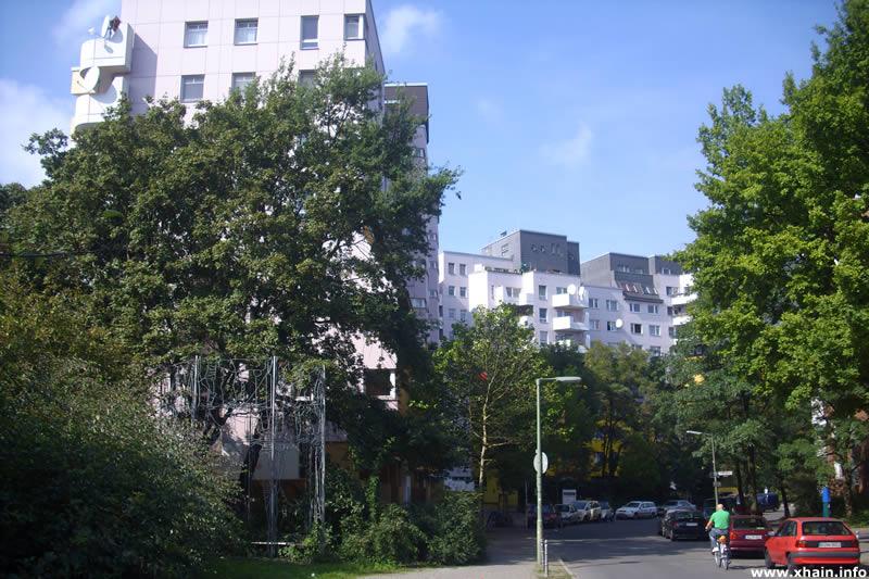 Böcklerstraße, Ecke Segitzdamm