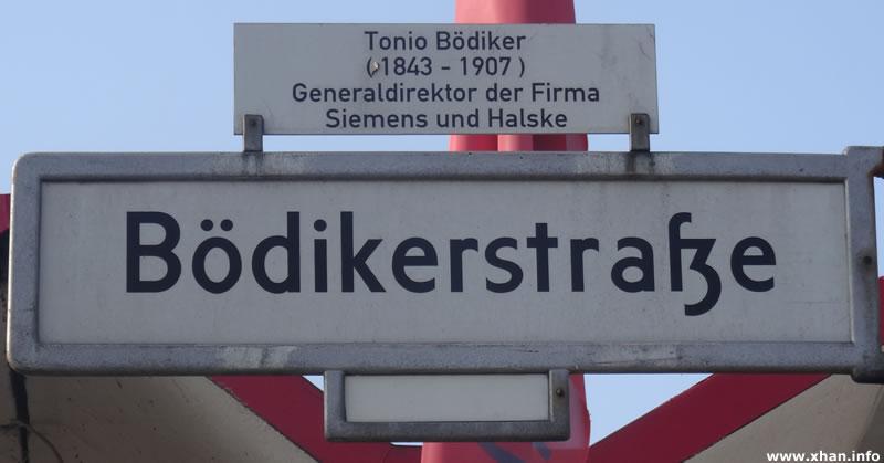 Bödikerstraße