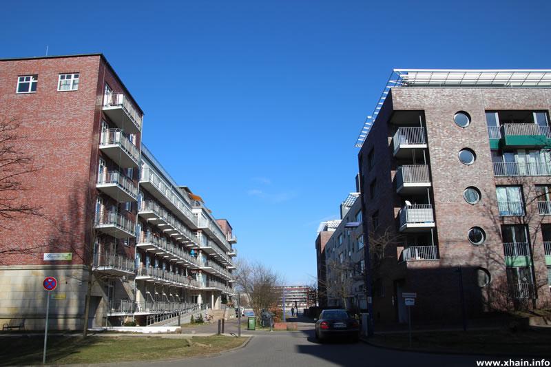 Bootsbauerstraße, Ecke Straße Fischzug (Seniorenzentrum Haus an der Spree)
