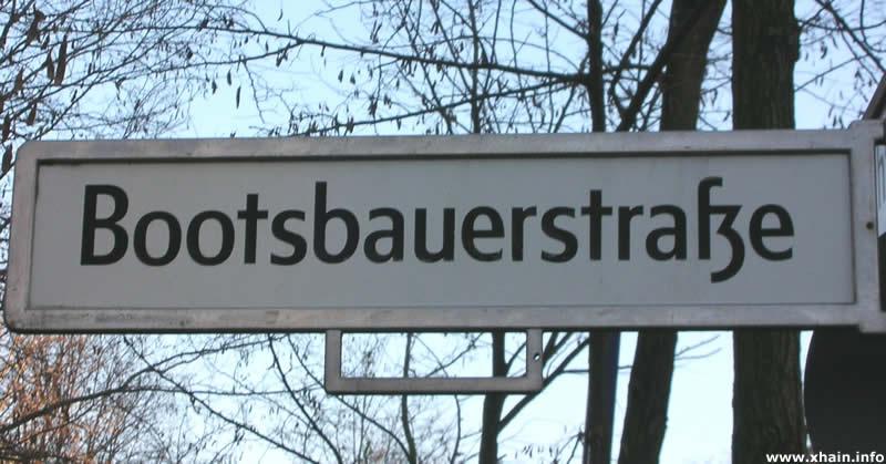 Bootsbauerstraße