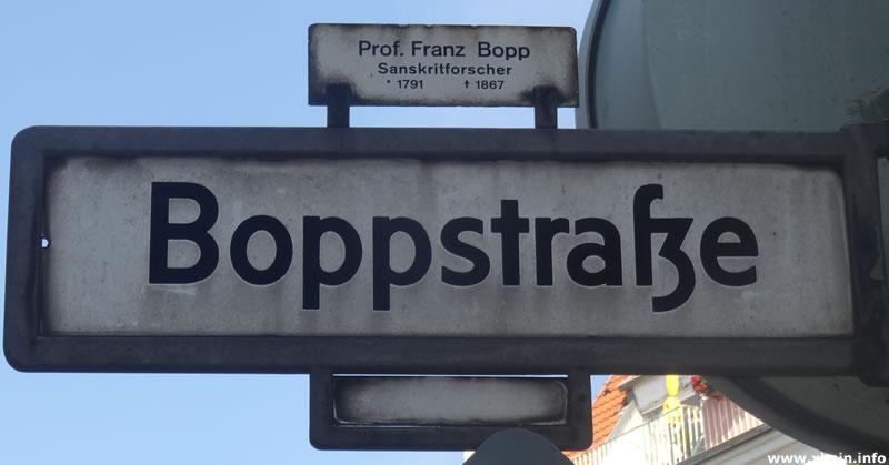 Boppstraße