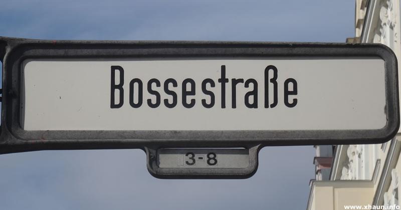 Bossestraße