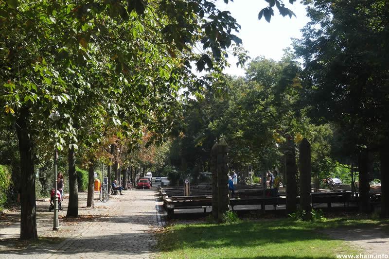 Bouleplatz am Landwehrkanal