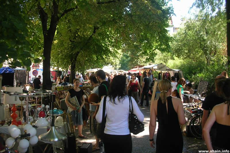 Floh- und Trödelmarkt am Boxhagener Platz