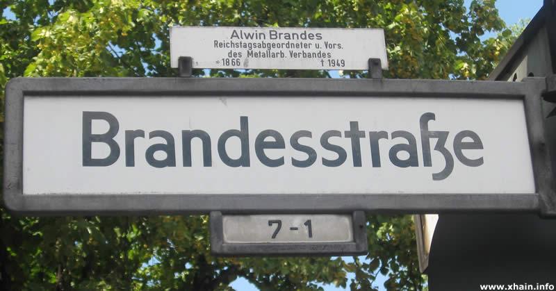 Brandesstraße