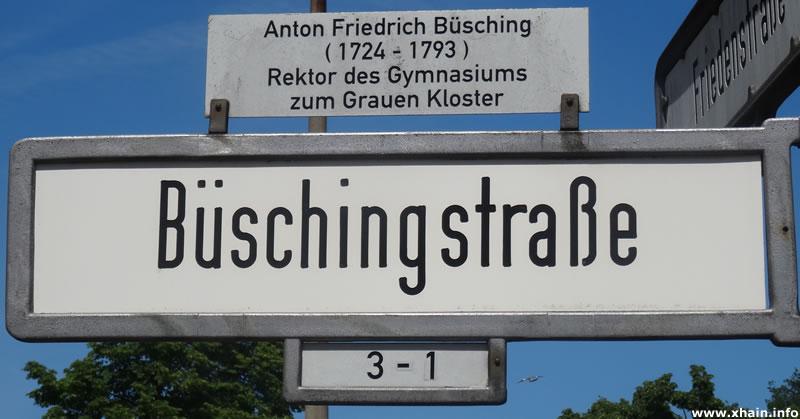 Büschingstraße