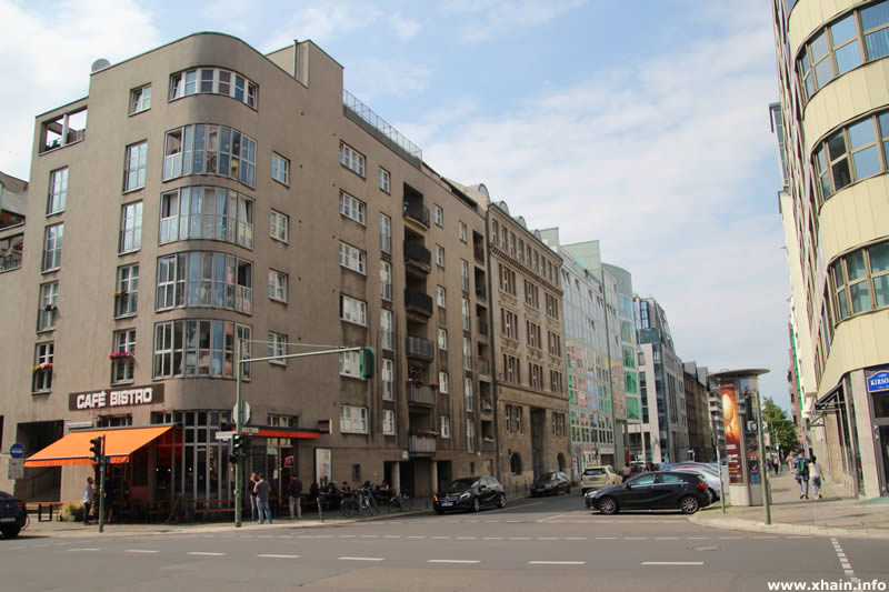 Charlottenstraße Ecke Rudi-Dutschke-Straße