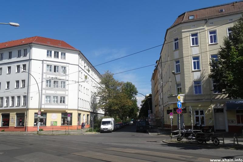 Colbestraße Ecke Boxhagener Straße