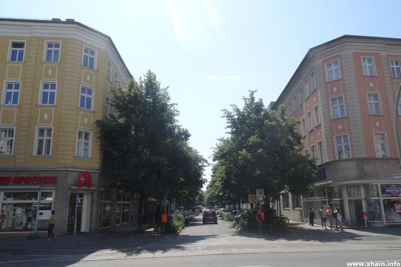 Colbestraße Ecke Frankfurter Allee