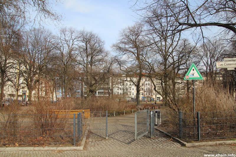 Comeniusplatz an der Marchlewskistraße