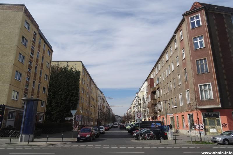 Corinthstraße Ecke Markgrafendamm