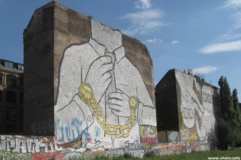 Cuvry-Graffiti von Blu