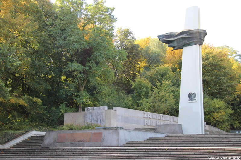 Denkmal des Polnischen Soldaten (Volkspark Friedrichshain)