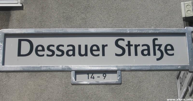Dessauer Straße