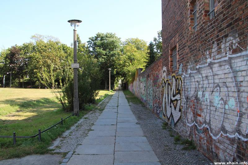 Diestelmeyerstraße, Ecke Friedenstraße