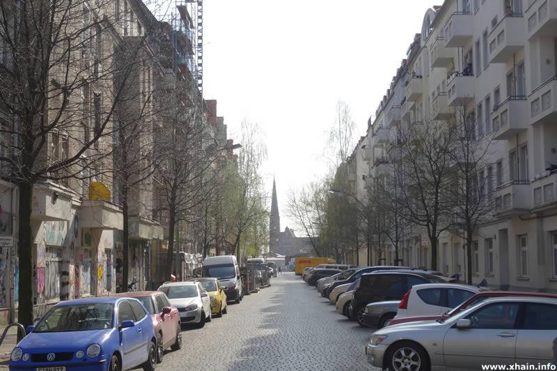 Dirschauer Straße, Blickrichtung Revaler Straße