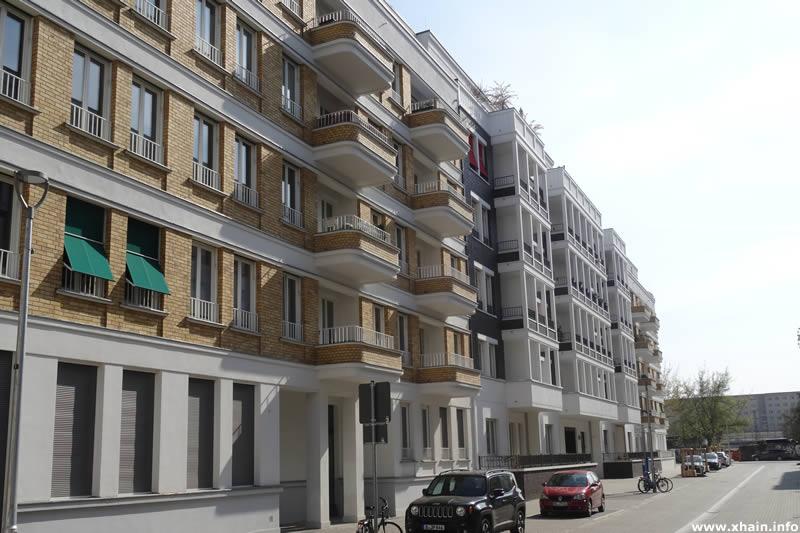 Neubauten in der Döringstraße, Blickrichtung Revaler Straße