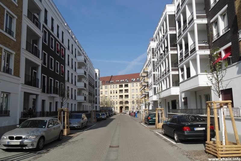 Döringstraße, Blickrichtung Simplonstraße