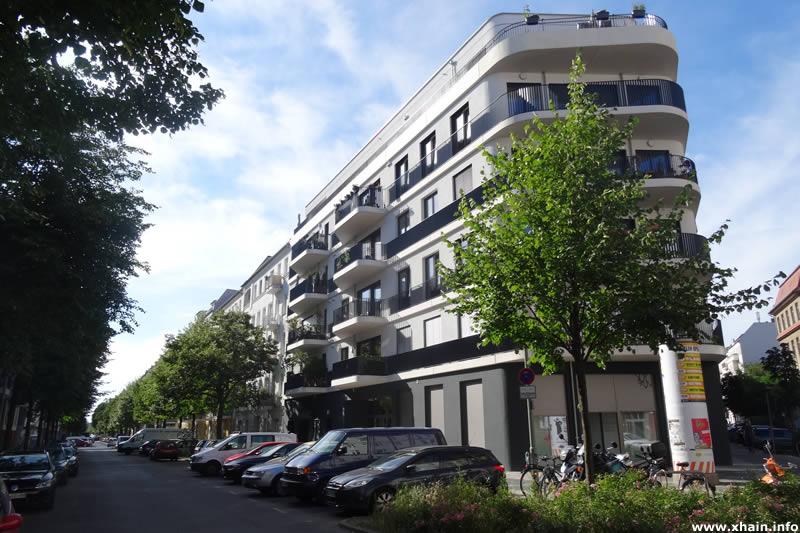 Dolziger Straße Ecke Pettenkoferstraße