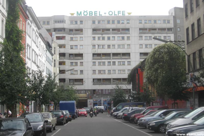 Dresdener Straße, Blickrichtung Kottbusser Tor