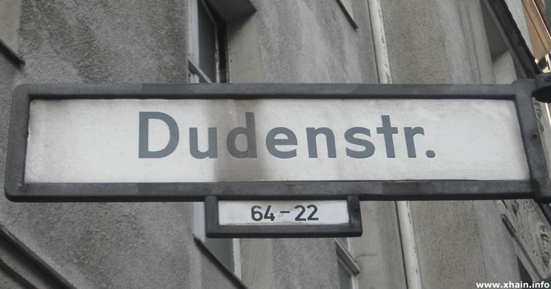 Dudenstraße