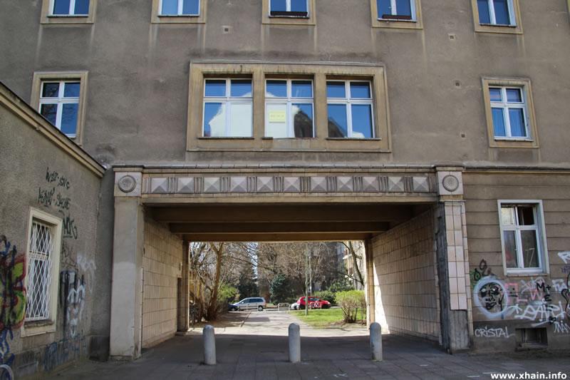 Durchgang Lasdehner Straße / Gubener Straße