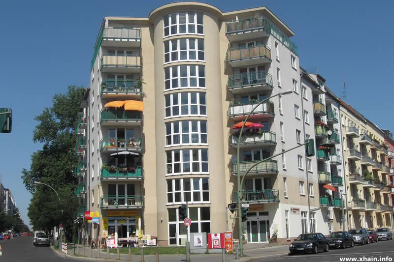 Neubau Ebertystraße Ecke Thaerstraße