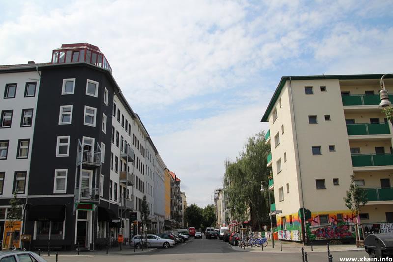 Kreuzung Eisenbahnstraße / Wrangelstraße